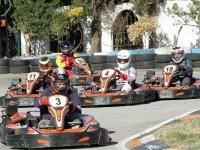 Karting competition in San Fernando Madrid