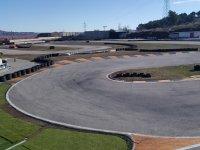 Curva del circuito de San Fernando de Henares