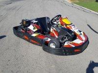 Kart en la pista en San Fernando de Henares