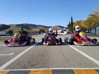 Pilotos de karting en Torrejon