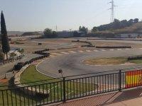 Vistas del circuito cerca de Torrejon