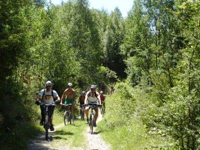 Alquiler de bici 1 día en el pantano de Barasona