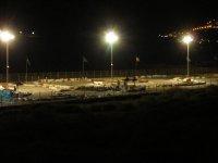 Vista nocturna del circuito