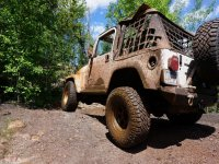 4x4 ride through the forest