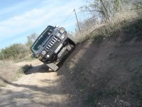 Lateral curso 4x4 Hummer