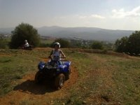 Quad ride through the countryside