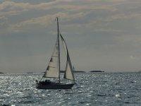Sailboat in Catalonia