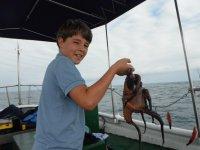 Pequeño pescador