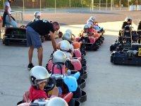 Preparando a los pilotos infantiles