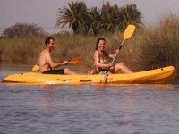 Two-setaer kayak tour