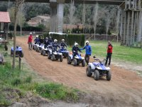 Group departing by quads from the facilities