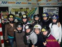 Solteras en el Karting
