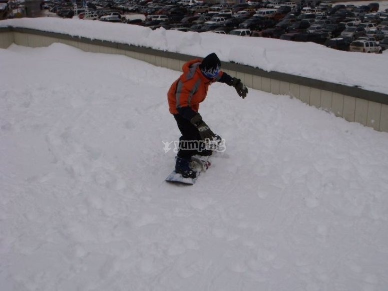 ¿Practicas snowboard?