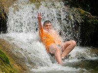 Baños en el rio Hulu Ocio Aventura