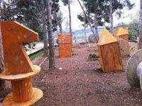 Campo de paintball en Tarragona