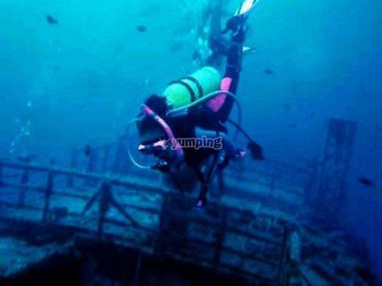 Submarinista experto
