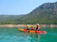 kayaks para tres personas