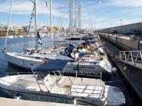 Embarcacion buceo aventura en la marina San Miguel
