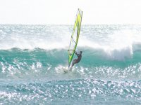 Windsurfing and waves
