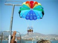 Vuelo en parascending en Marbella, 15 minutos