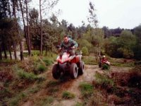 Salto con quad
