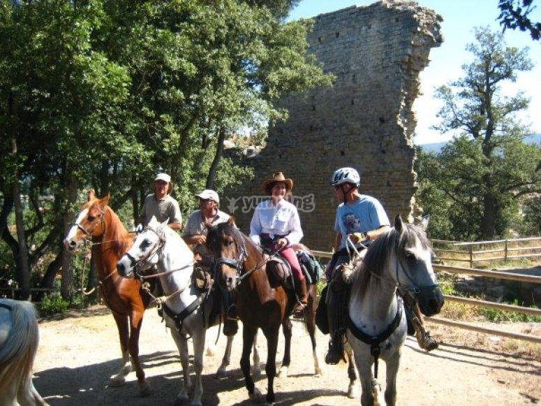 Horseride route