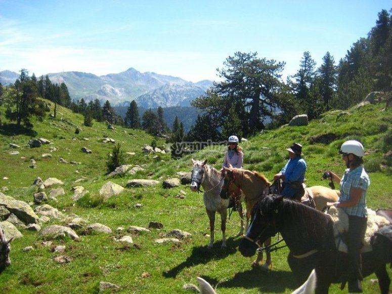 Horseback route