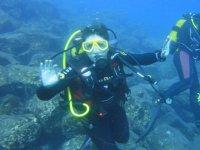 Disfrutando de aventuras submarinas