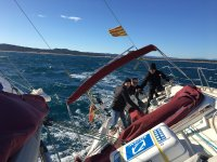 Maniobras de navegacion a vela