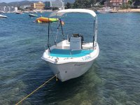 Barca senza patente a Ibiza
