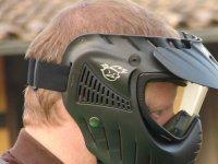 Protegido con la mascara
