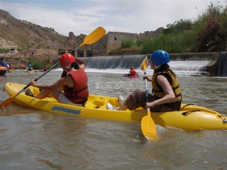 Piragüismo en el Río Segura