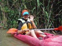 Descenso en piragua por el río Segura y pícnic