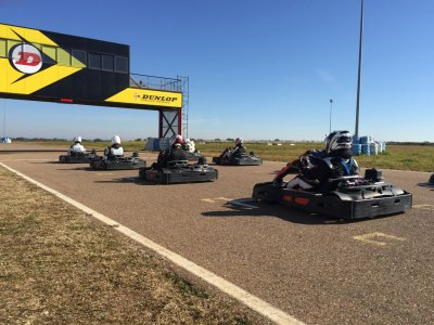 Open karting series for adults in Talavera 15 min