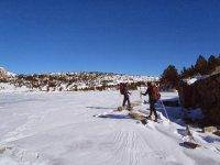 Raquetas de nieve para expertos