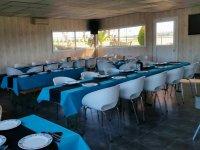 Restaurante del karting de Caceres