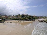 Playa entorno de Arriondas