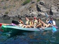 划船家庭日皮艇