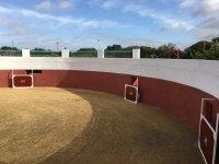 Plaza para capeas en el complejo