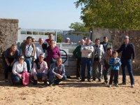 Grupo de visita a la ganaderia