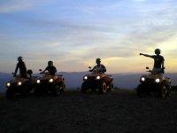 Quad Route at dusk