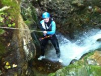 jumping in the ravine