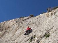escalando la montaña