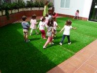 Juegos sobre el patio