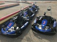 Karts del circuito de Zuera