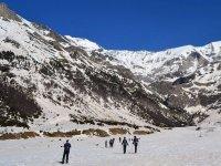 Raquetas de nieve en los Pirineos