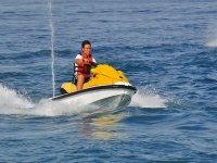 Moto de agua en Pineda de Mar