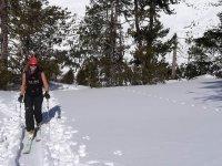 En la nieve tambien se puede pasear