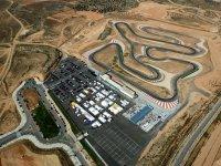 Vista aérea del complejo Motorland Aragón