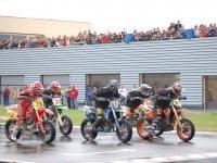 Salida de carrera de motos